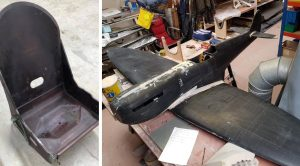 Why This New Spitfire Restoration Project's Seat Is A Big Deal