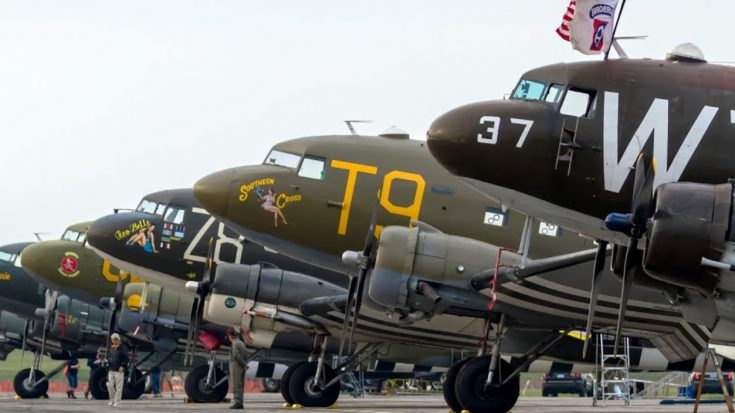 Here Are All The C-47s Flying To Normandy For D-Day 2019 | World War Wings Videos