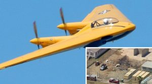 BREAKING | World's Only N9M 'Flying Wing' Just Crashed In Prison Yard