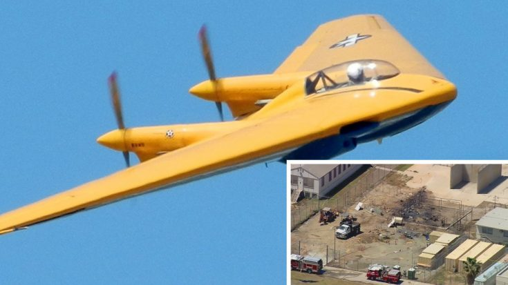 BREAKING | World's Only N9M 'Flying Wing' Just Crashed In Prison Yard | World War Wings Videos