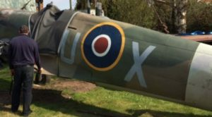 Man Rebuilds Spitfire In His Garden For 7 Years