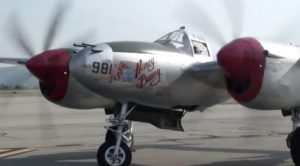 "P-38 ""Honey Bunny"" Start-Up and Taxi"