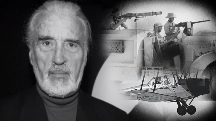 Christopher Lee Was A WWII RAF Badass – 6 Things You Might Not Have Known | World War Wings Videos