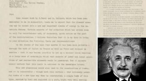Albert Einstein: The Letter That Changed History Forever