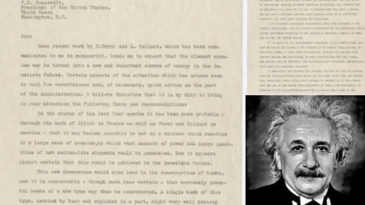 Albert Einstein: The Letter That Changed History Forever | World War Wings Videos