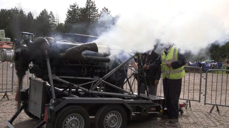 Original Merlin XX Engine Starts Again – Not Heard Since 1943 | World War Wings Videos