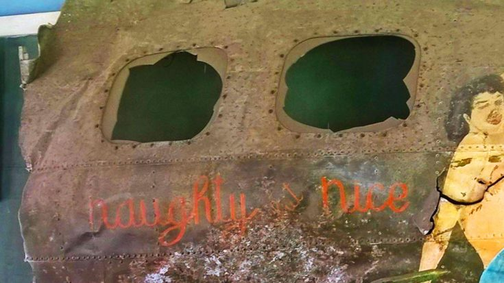 """You Can Now Get Your Hands On A B-17E 'Naughty But Nice"""" Relic 
