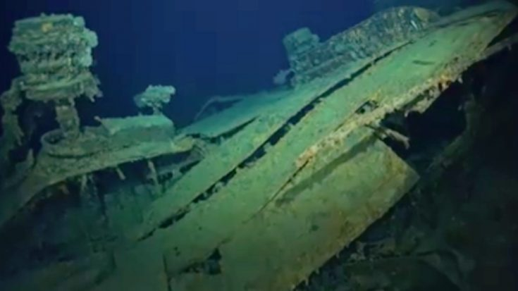 First Video Surfaces Of IJN Niizuki Deep In The Pacific | World War Wings Videos