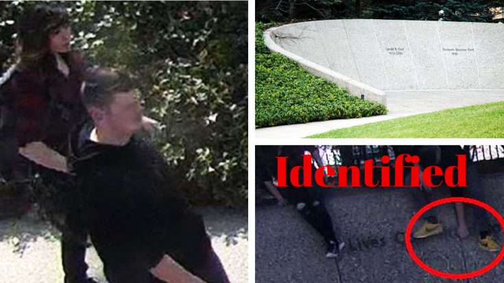 Update: Teens Just Vandalized A Presidential Gravesite – Police Looking For Help With Identification | World War Wings Videos