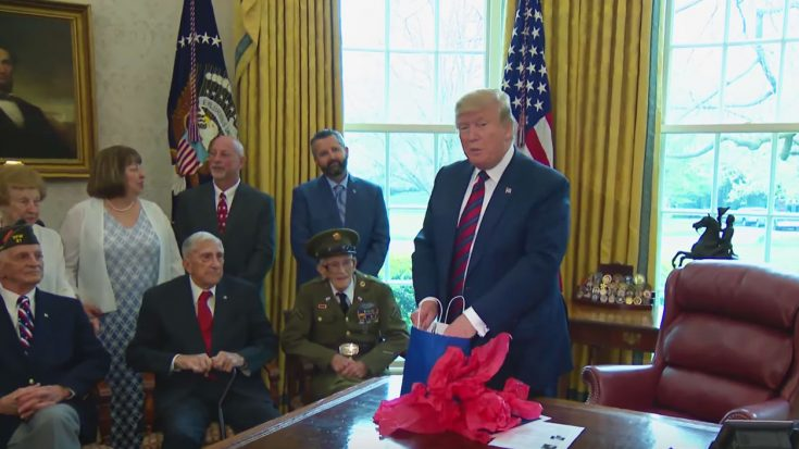POTUS Delivers On Promise– Hosts WWII Vet For 95th Birthday | World War Wings Videos
