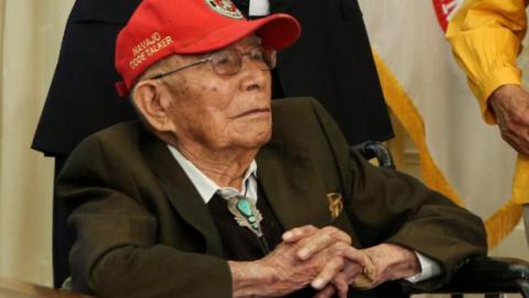 Fleming Begaye Sr. – Navajo Code Talker – Has Died. He Was 97 | World War Wings Videos