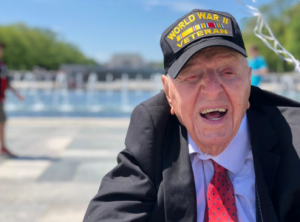 "100-Year Old  Veteran Is Out To Make Sure You Honor Our Remaining WWII Heroes Through His ""No Regrets"" Tour"