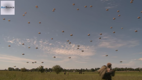 D-Day's 75th Anniversary Will Feature Massive Paratrooper Invasion | World War Wings Videos