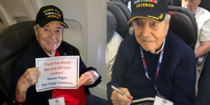 WWII Vet Dies On Return Flight From Tour of D.C. Veterans Memorials