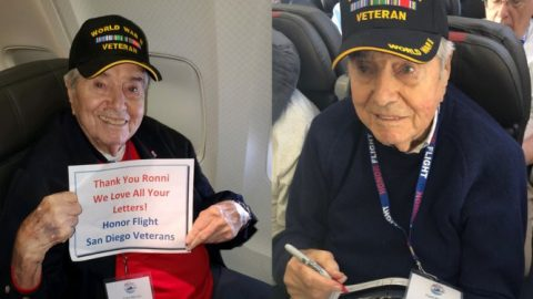 WWII Vet Dies On Return Flight From Tour of D.C. Veterans Memorials | World War Wings Videos