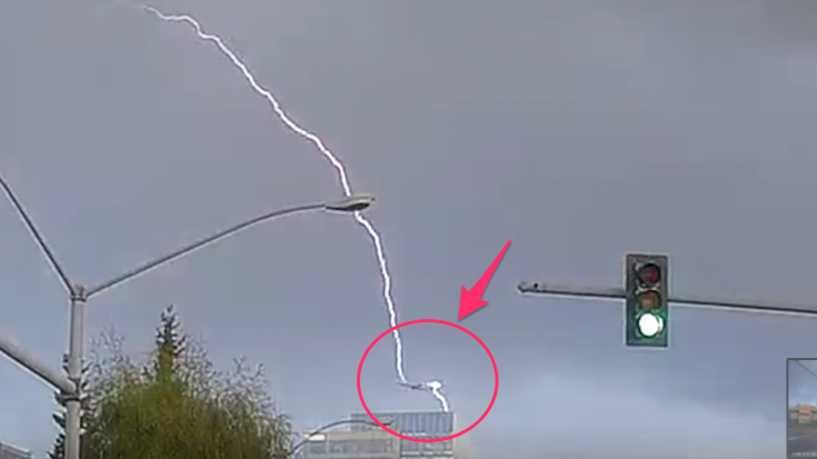 Plane Gets Struck By Lightning- Caught On Video | World War Wings Videos