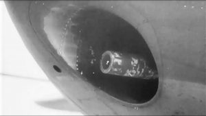 B-25G Mitchell Fires Its 75MM Cannon