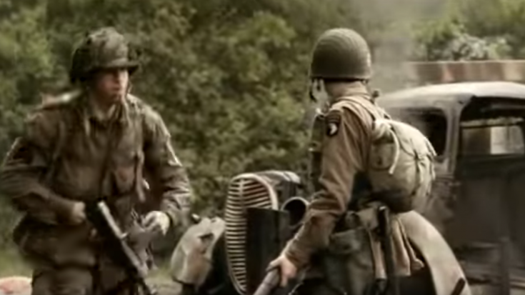 Band of Brothers: Convoy Ambush on D-Day Scene- Intense Moment | World War Wings Videos