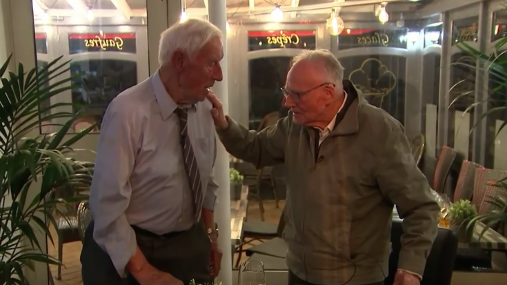 WWII Enemies Meet Face To Face For 1st Time on D-Day 75th Anniversary | World War Wings Videos