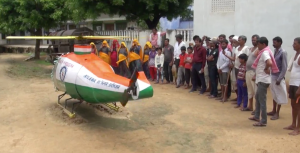 Farmer's Son Builds DIY Helicopter From Scrap Material