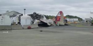 Recent B-17 Crash Raises Questions About Vintage Aircraft Rides