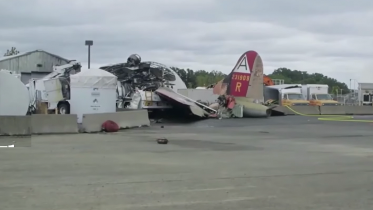 Recent B-17 Crash Raises Questions About Vintage Aircraft Rides | World War Wings Videos