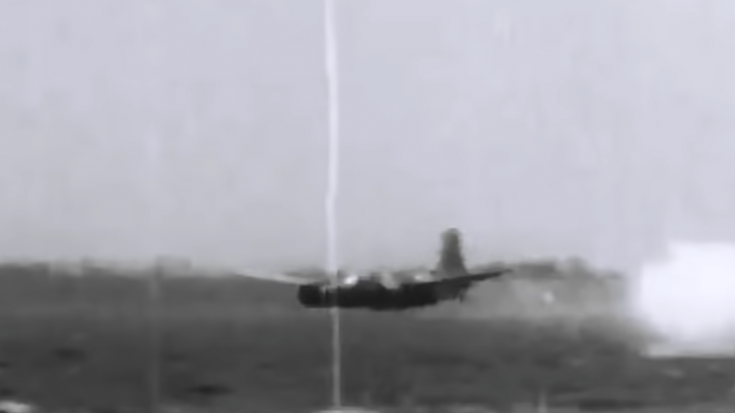 Douglas A-26C Breaks Apart Mid-Air Testing A Bouncing Bomb | World War Wings Videos