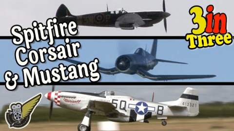 WWII Planes Low and Loud (No Music) | World War Wings Videos