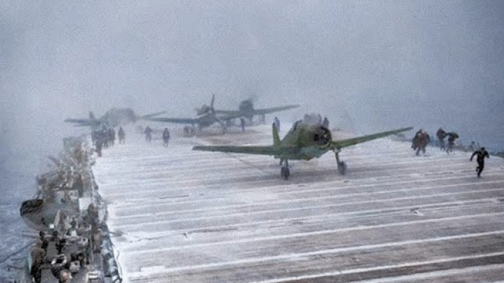 The WWII Aircraft Carrier Made of Ice | World War Wings Videos