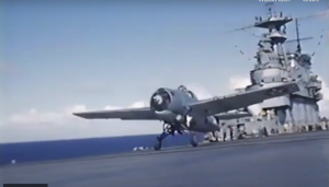 Battle of Midway Footage from Onboard USS Yorktown