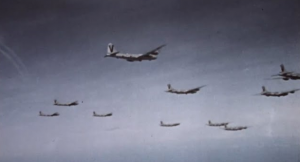WWII – Air Raids on Japan (Real Footage in Color)