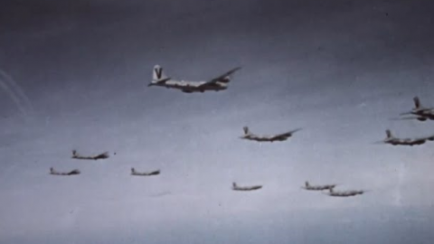WWII – Air Raids on Japan (Real Footage in Color) | World War Wings Videos