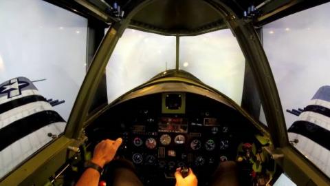 Best WWII Plane Simulator Yet: P-47 Thunderbolt | World War Wings Videos