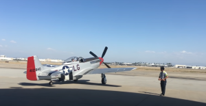 Tom Cruise's P-51 Mustang Startup and Take Off