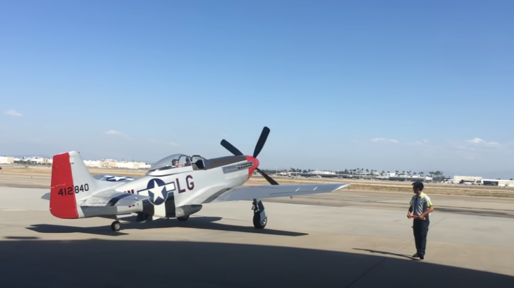 Tom Cruise's P-51 Mustang Startup and Take Off | World War Wings Videos