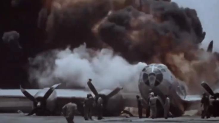 1945: Incredible Crash Landings of B-29 Bombers | World War Wings Videos