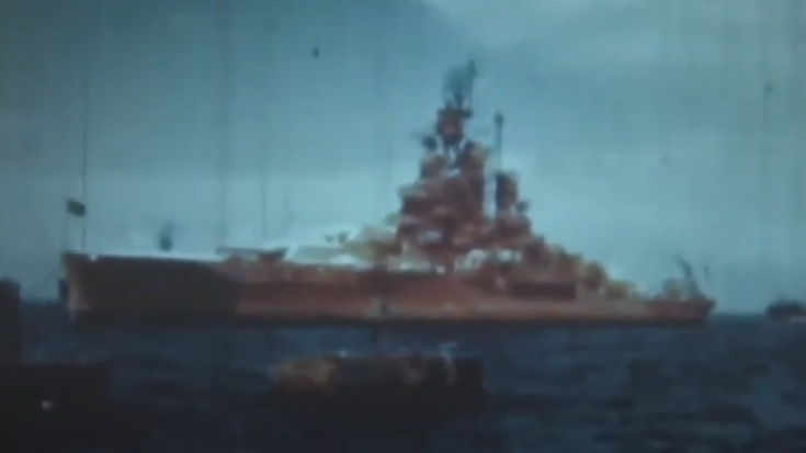 1946 Naval Ships of The Bikini Atomic Bomb Tests ~ Before & After | World War Wings Videos