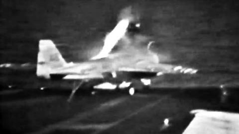A-6 Intruder Carrier Deck Ejection | World War Wings Videos