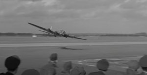 Risky Low Pass by B-17 Flying Fortress