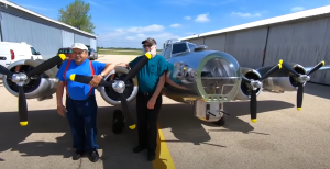 He Built a Small B-17 Flying Fortress That You Can Actually Fly