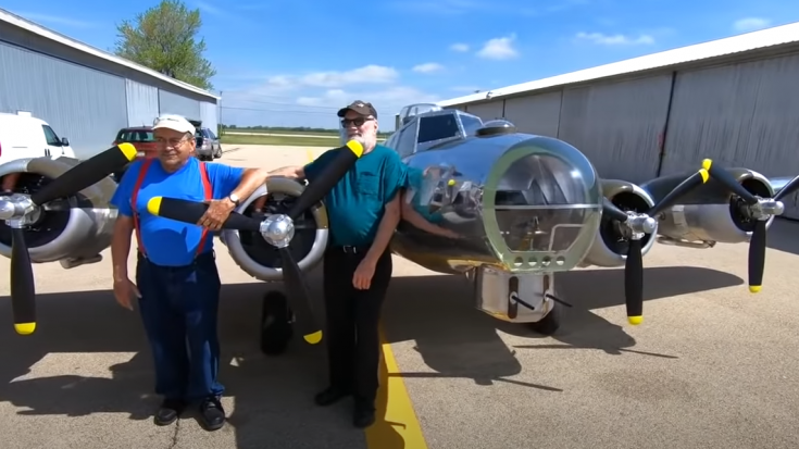 He Built a Small B-17 Flying Fortress That You Can Actually Fly | World War Wings Videos