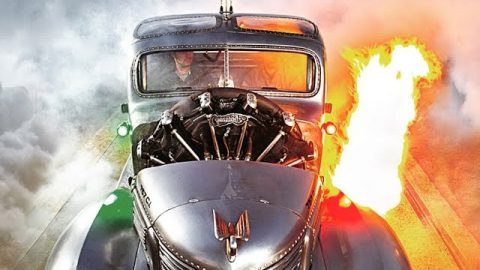 1939 Plymouth Truck with a 7 cylinder airplane radial engine | World War Wings Videos