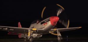WWII Warbirds Night Engine Runs – Amazing Sound
