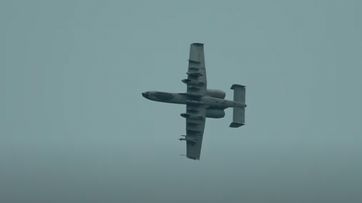 Listen To That A-10 Warthog Terrifying Howl